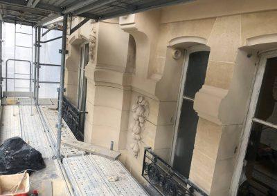 façade en pierre de taille
