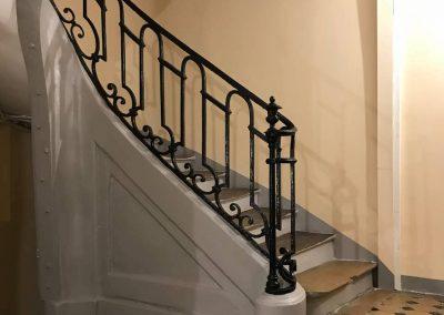 cage d'escalier parisienne